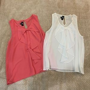 Two Tank Tops
